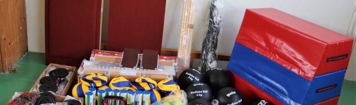 Grant na podporu športu a športovej výbavy